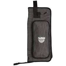 Sabian QS1HBK Quick Drum Stick & Mallet Heathered Black Zip Bag Accessory Pocket