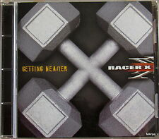 CD:Getting Heavier-Racer X   ***orig.PROMO COPY  Mascot Rec.2003