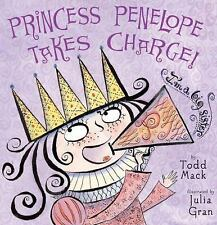 2 NEW books-Princess Penelope & Princess Penelope Takes Charge-SOFTCOVERS