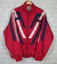 VINTAGE RETRO 90's ADIDAS BRIGHT BOLD SHELLSUIT COAT JACKET WINDBREAKER L
