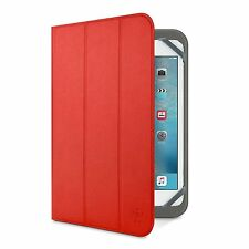 "Belkin Universal Tri-Fold Folio Cover Case For Huawei MediaPad M2 & T1 10"" Red"