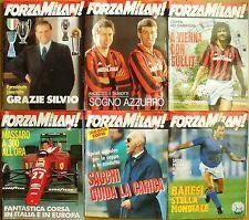 RARO BOOK FORZA MILAN 7/8/9/10/11/12 1990 ottime condizioni