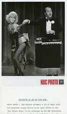 DOM DELUISE LOUISA MORITZ MAGICIAN AND ASSISTANT LOTSA LUCK 1974 NBC TV PHOTO