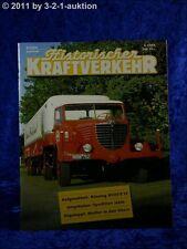 Historischer Kraftverkehr 3/00 Büssing 8000 S13 Meiller