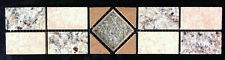 "2 3/4"" tall Granite and Travertine Listello -NEW VENETIAN GOLD - Made to Order"