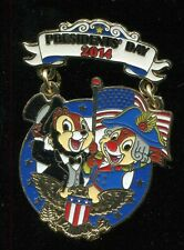 Chip and Dale President's Day 2014 LE Disney Pin 99753