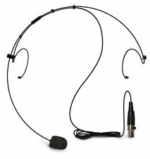 Nady HM-10 XLR Headset Condenser Microphone For Hands-Free Operation HM10