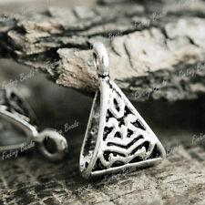 50Pcs Tibetan Silver Bali DIY Style Bail Beads TS0772