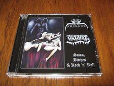 "ABIGAIL  / DULVEL ""Split"" CD  hellhammer sabbat nunslaughter"