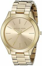 Michael Kors Ladies Gold-tone Stainless Steel Gold-Tone Dial MK3179