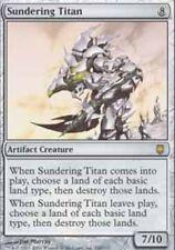 [1x] Sundering Titan - Foil [x1] Darksteel Played, English -BFG- MTG Magic