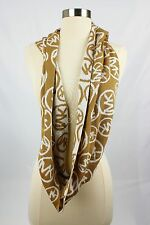 NWT MICHAEL KORS MK Camel and Cream Knit Infinity Scarf $60