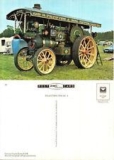 BURRELL SHOWMANS ROAD LOCOMOTIVE UNUSED COLOUR POSTCARD BY DENIS D 218 89