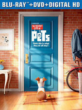 *NEW* The Secret Life of Pets (Blu-ray + DVD + Digital HD) *FACTORY SEALED*