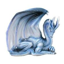 WHITE DRAGON OF WISDOM FANTASY STATUE, FIGURE FROM NEMESIS NOW NEM4377
