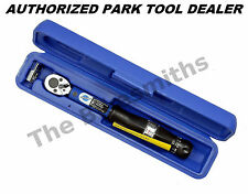 "Park Tool TW-5 Ratcheting Torque Wrench 1/4"" Drive w/3/8""Adptr ParkTool Warranty"