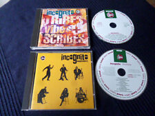 2 CDs Incognito - Tribes Vibes Scibes (1992) & Positivity (1993) Acid Jazz Funk