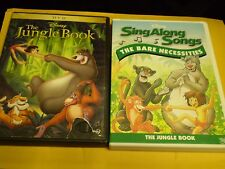 (2) Disney The Jungle Book DVD Lot: The Jungle Book & Disney Sing-Along DVD