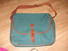 Ralph Lauren green canvas unisex overnight travel shopping shoulder bag Nwot
