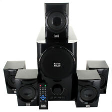 Acoustic Audio AA5160 5.1-channel 500-watt Home Theater Speaker System with Powe