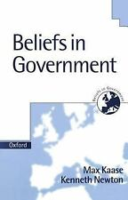 Beliefs in Government: Beliefs in Government Volume 5 by Kenneth Newton and...