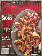 Eating Well 45 Holiday Recipes Pie Christmas Cooking Nov Dec 2015 FREE SHIPPING
