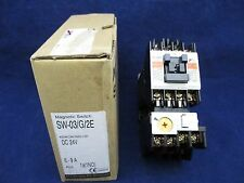 Fuji Electric Magnetic Switch SW-03/G/2E new