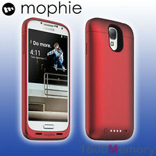GENUINE Mophie Juice Pack Battery Case for Samsung Galaxy S4 GT-i9500 Red