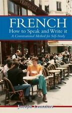 French: How to Speak and Write It Dover Language Guides French English and Fr