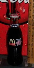1993 McDONALD'S 6TH RONALD McDONALD HOUSE SHOW 8 OUNCE GLASS COCA - COLA BOTTLE