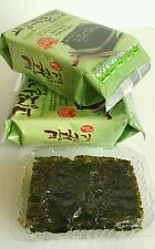 Korean Seasoned Roasted Seaweed Healthy Diet Snack Food 5 Packs