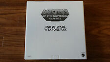 Masters of Universe Classics End of Wars Weapons Pak Pack Accessories MOTU MOTUC