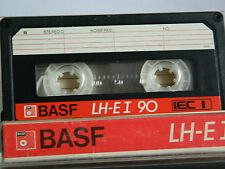 "BASF LH-E I 90   ""Großes Fenster""-Version 1985- 1987  Audio-Cassette TAPE MC"
