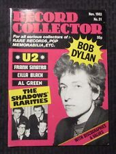 1983  RECORD COLLECTOR UK Magazine #51 FVF Bob Dylan - U2 - The Shadows