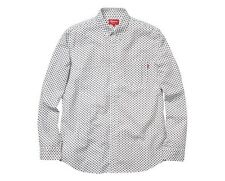 Supreme Paisley Oxford Button Up Flannel L Ian Connor Box Logo Hoody Plaid