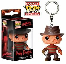 "NIGHTMARE ON ELM STREET FREDDY KRUGER POCKET POP KEYCHAIN 2"" FIGURE FUNKO"