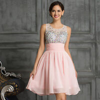 Short Wedding Party Ball Gown Homecoming Evening Prom Cocktail Bridesmaid Dress