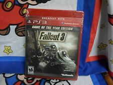 Playstation 3 Fallout 3 -- Game of the Year Edition  Game BRAND NEW SEALED