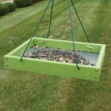 Woodlink Going Green Platform Feeder - Light Green 32325 Bird Feeder NEW