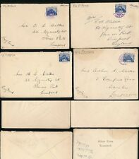 JAPAN POST OFFICE in CHINA SOUTH MANCHURIA 1938 to LIVERPOOL...DAIREN + 3 OTHERS