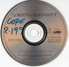 "LOREENA McKENNITT ""THE DARK NIGHT OF THE SOUL"" ULTRA RARE SPANISH PROMOTIONAL CD"