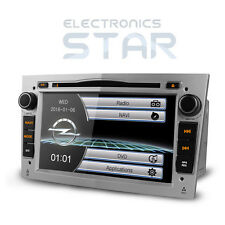Car Stereo CD DVD Player GPS SATNAV Bluetooth Vauxhall Opel Astra H/Combo/Zafira