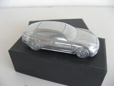 【RARE】Ltd Ed Porsche Panamera Turbo Model Billet Aluminum Paperweight!