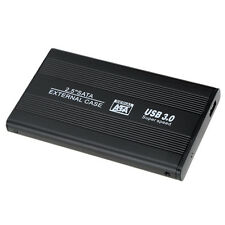 2.5 inch Sata 22pin SSD to USB 3.0 External Hard Disk Enclosure for PC Black