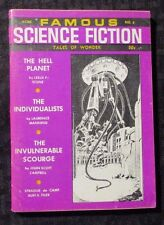 1968 FAMOUS SCIENCE FICTION Digest Magazine v.1 #6 VG+ Frank R Paul Cover