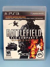 Battlefield: Bad Company 2 -- Ultimate Edition (Sony PlayStation 3, 2010) PS3