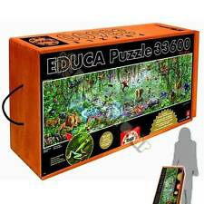 EDUCA PANORAMA JIGSAW PUZZLE WILDLIFE ADRIAN CHESTERMAN 33600 PCS #16066 JUNGLE