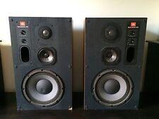 Pair Vintage JBL 4410 Studio Monitor Audiophile 3-Way Stereo Speakers - Rare