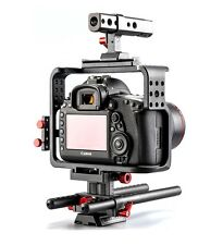 [Forever100] Cage of Canon EOS 5D Mark IV 4 DSLR Camera 15mm Rod Base Rig Set