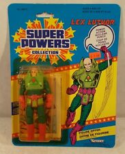 Kenner Super Powers Lex Luthor Figure 12 Back Mint Punched Bilingual Card